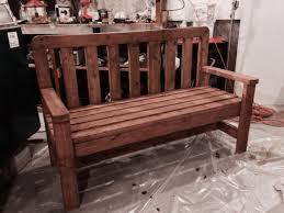 Incredible Wooden Park Bench Plans For Free Diy Gammaphibetaocu