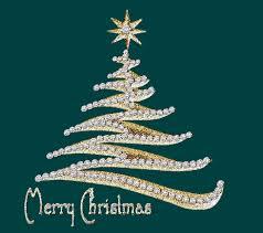 Animated Merry Christmas Tree