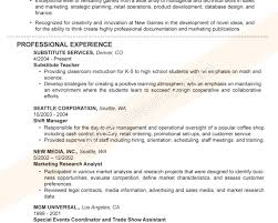 Good Resume Title Examples Pertaining To Professional Titles