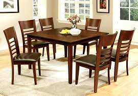 Light Wood Dining Room Sets Large Size Of Modern Style Black