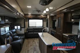 Crossroads Volante Fifth Wheel Interior