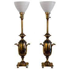 Stiffel Table Lamps Shades by Furniture Stiffel Floor Lamp With Glass Table Sylvania Lamps