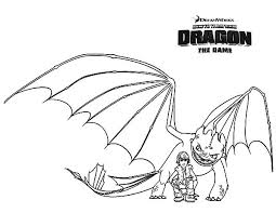How To Train Your Dragon 2 Coloring Pages For Kids