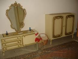 schlafzimmer barock chippendale beige gold