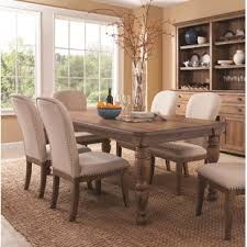 South Mountain Farmhouse Extendable Dining Table Set