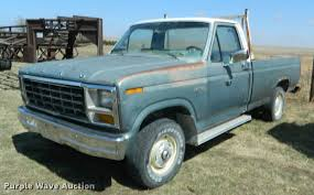 100 1981 Ford Truck F150 Pickup Truck Item K2650 SOLD May 3 Ag Eq