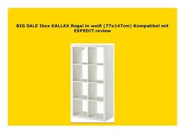 best buy ikea kallax regal in wei 77x147cm kompatibel