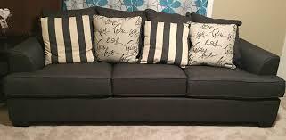 Levon Charcoal Queen Sofa Sleeper by Levon Charcoal Sofa Sofas