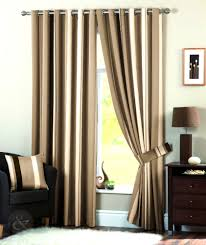 Ebay Curtains With Pelmets Ready Made by Luxury Striped Faux Silk Curtains Ready Made Eyelet Ring Top Fully