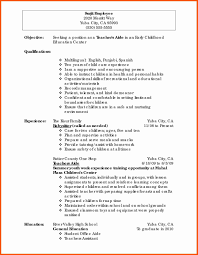 Resume Sample For Early Childhood Teacher Inspirational It Infrastructure Professional Tutor Unique