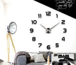 großhandel neue 3d wanduhr digital wanduhr mode wohnzimmer uhren große wanduhr diy dekoration saat acryl sweet4 49 53 auf de dhgate