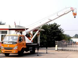 100 7 Ton Truck China Crane Crane Mounted Crane China