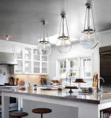 clear glass pendant lighting kitchen regarding lights for