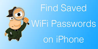 View Saved WiFi Passwords on iPhone or iPad in IOS 11 or 10