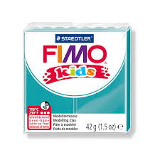 pâte fimo 42gr turquoise n 39 staedtler perles co