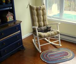 Custom Rocking Chair Cushion - Traditional - Bedroom - Other ... Dectable Comfy Armchair For Nursery Magnificent Fniture Pretty Rocking Chair Pads With Marvellous Designs Vintage Sewing Caddy Pin Cushion Bedroom Enjoying Completed Swivel Rocker Fuzzy Sand Pier 1 Imports Play Floors Barrel And Small Awesome Metal Plans Seat Mesh Outdoor Cushions Dhlviews Colmena Acacia Wood With Set Of 2 Gray And Dark Matheny Chairs Rock Duty Outdoors