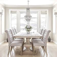 Formal Dining Room With Reclaimed Oak Table