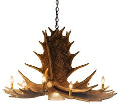 Pottery Barn Ceiling Fans With Lights by Lamp Deer Horn Chandelier With Authentic Look For Your Lighting