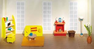 goki 51904 wohnzimmer holz puppenhaus möbel