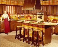 Kitchen Stunning Vintage Mid Century Retro Kitchens Circa To 1970 S Old Design And Decoration Ideas