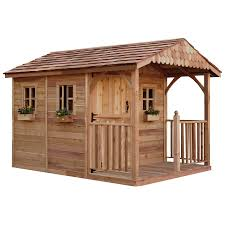 6 X 6 Wood Storage Shed by Shop Outdoor Living Today Common 8 Ft X 12 Ft Interior