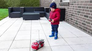100 You Tube Fire Truck Funny Baby Playing With Disney Pixar Cars RC Red Engine