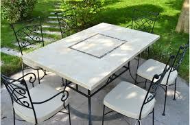 table de jardin mosaique castorama idées de décoration capreol us