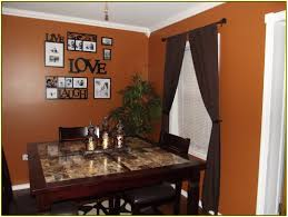 Small Rustic Dining Room Ideas by Burnt Orange Dining Room Alliancemv Com
