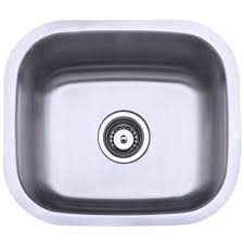 Overstock Stainless Kitchen Sinks by Stainless Steel 18 Inch Undermount Kitchen Sink Free Shipping
