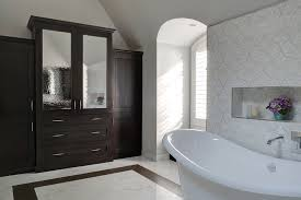 porcelain tile that looks like marble bathroom transitional with