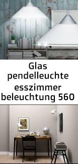 glaspendelleuchte esszimmerbeleuchtung 560 lumen hängele