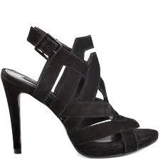 steven by steve madden jessy black nubuck shoes for women aemow