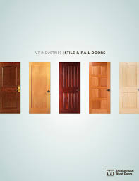 Decore Ative Specialties Door Profiles by Stile Rail Doors U0026 Stile U0026 Rail Door Shown In Single Inset