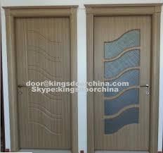 porte de chambre design moderne style turc mdf pvc chambres en bois portes portes