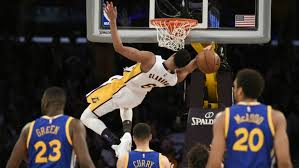 NBA scores Lakers stun Warriors with 112 95 win