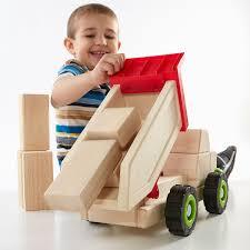 Block Science - Big Dump Truck - Stevensons Toys