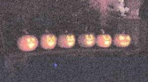 Singing Pumpkins Grim Grinning Pumpkins Projector by Halloween Singing Pumpkins 2010 Ghost Riders In The Sky Youtube