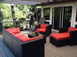 Searsca Patio Swing by Sunbrella Forest Green With Mixed Brown Wicker Ohana Wicker
