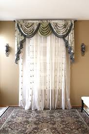 Valances Curtains For Living Room by Appalachian Spring Swag Valance Curtains
