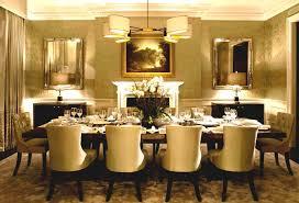 Classic Dining Room Modern Furniture Home Decor Interior
