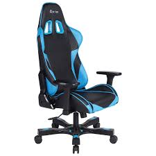 Dxracer Gaming Chair Cheap by Clutch Chairz Crank Charlie Gaming Chair Blue Black Gaming