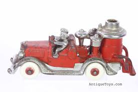 Hubley-pumper-fire-truck - Antique Toys For Sale Meet Dean Messmer Havasus Boat Broker And Aficionado Of All Antique Buddy L Fire Truck Wanted Free Toy Appraisals Wenmac Texaco Fire Truck Automotive Toys The Estate Sale Mack Fire Truck Customfire Built For Life You Can Count On At Least One New Matchbox Each Year Water Tower Price Guide Information 1991 Pierce Arrow 105 Quint For Sale By Site 1935 Federal 2058869 Hemmings Motor News Classic 1938 Ford F3 Pickup Sale 2052 Dyler
