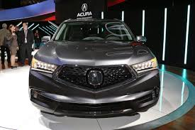Does Acura Mdx Have Captains Chairs by 2017 Acura Mdx Front View 10360 Cars Performance Reviews And