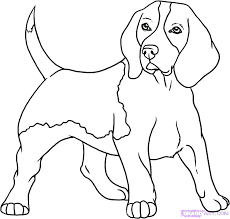 Realistic Dog Coloring Pages Beagle Pin 4 Cute