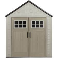 Roughneck 7x7 Shed Instructions by Sheds Rubbermaid Ft X Horizontal Storage Shed Countertops Large
