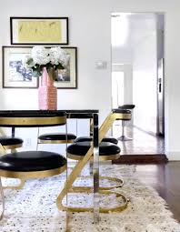 Dining Chairs ~ Black Gold Dining Chair Black And Gold Dining Set ... Vig Fniture Modrest Kingsley Modern Black Rose Gold Ding Chair Of America Duarte Iii Crocodile Textured Zuo Elio Set 2 Antique Sets Glass Tops Bases Chairs Frame Pedestal Vintage European And Round Table Beautiful Leopard Print 6 Room Wooden Best Of 25 With Legs Ideas Design 100 Transformed Reality Daydream Meridian Karina The Classy Home Inspirational 50 And Dcor Inspiration For New Years Eve Nage Designs Patings On Blue Wall Gold Clock In Modern Ding Room