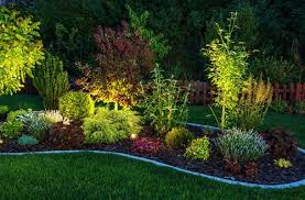 Outstanding Six Steps To Stunning Garden Lighting With Examples Bright Intended For Flower Bed Lights Popular