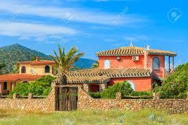 100 Sardinia House Traditional Holiday Villa Houses On Capo Boi Beach