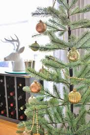 Types Of Christmas Trees With Sparse Branches by Dining Room Updates And Holiday Touches Simply Styled