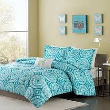 Anthology Bungalow Bedding by Anthology Bungalow Comforter Set In Teal Bedbathandbeyond Com